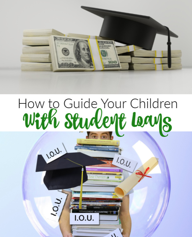 How Empty Nesters Can Guide Their Children With Student Loans