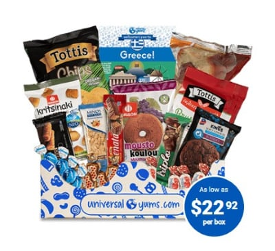 Universal Yums! Snack Boxes