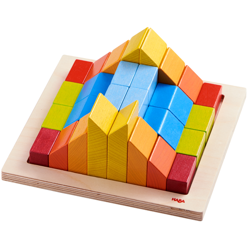 3-D arranging puzzle by HABA