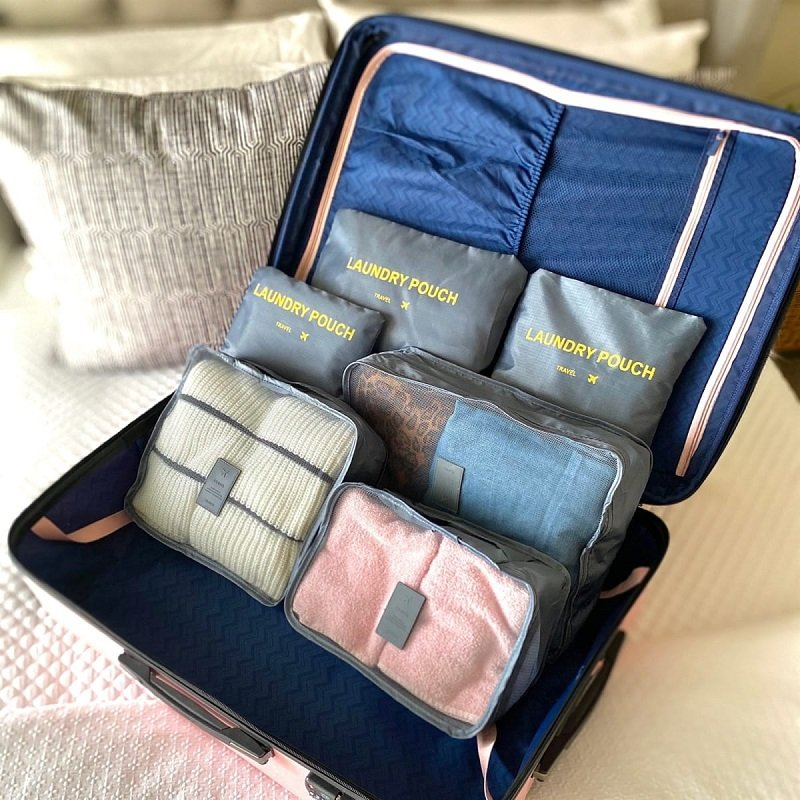 6 Piece Travel Organizer Bags Just $16.98 Shipped (Reg. $25) *EXPIRED*