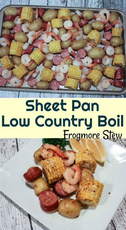 Sheet Pan Low Country Boil Frogmore Stew Recipe