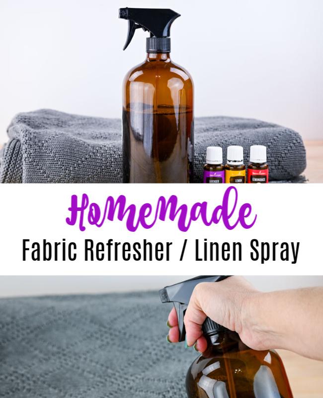 Homemade Fabric Refresher Pinterest
