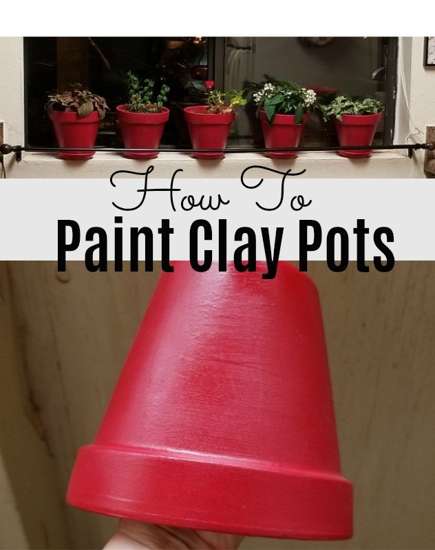 Paint Clay Garden Pots In 3 Steps – It's Easier Than You Think!