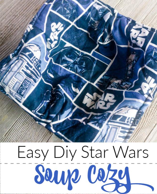 DIY Star Wars Microwave Bowl Cozy