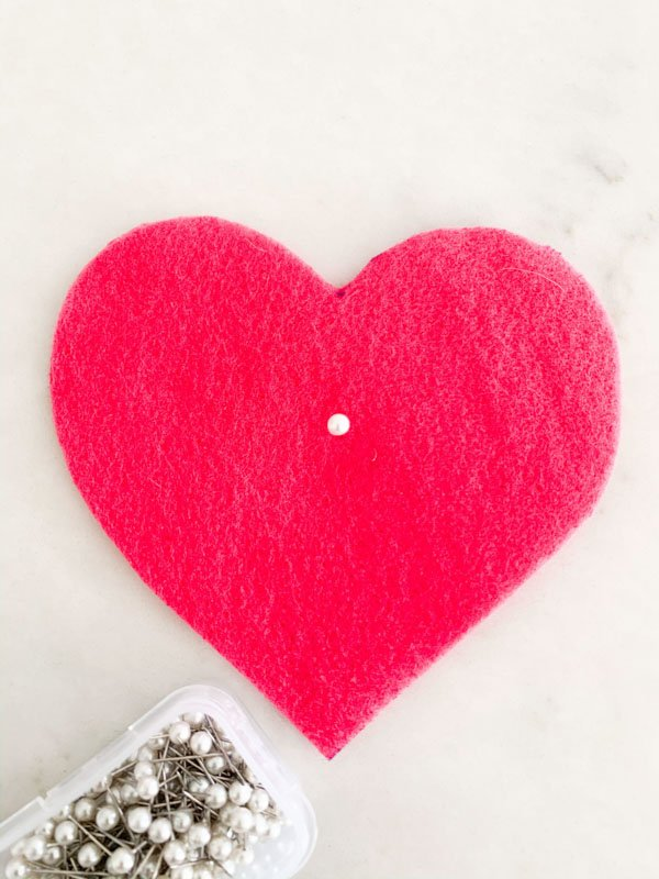 DIY Valentines Felt Hearts  4