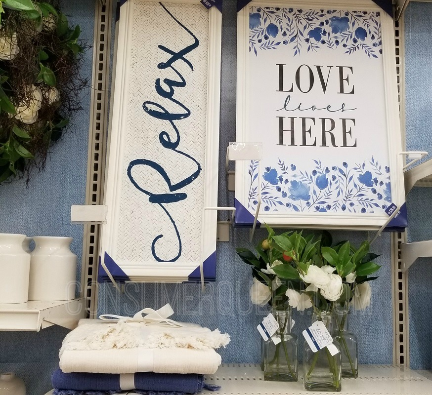 all spring decor at michaels