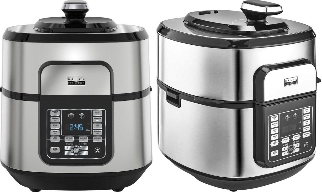 Bella Pro Series BIG 8qt.Multi-cooker w/Air Fryer $99.99 – Ships Free (Reg. $180)