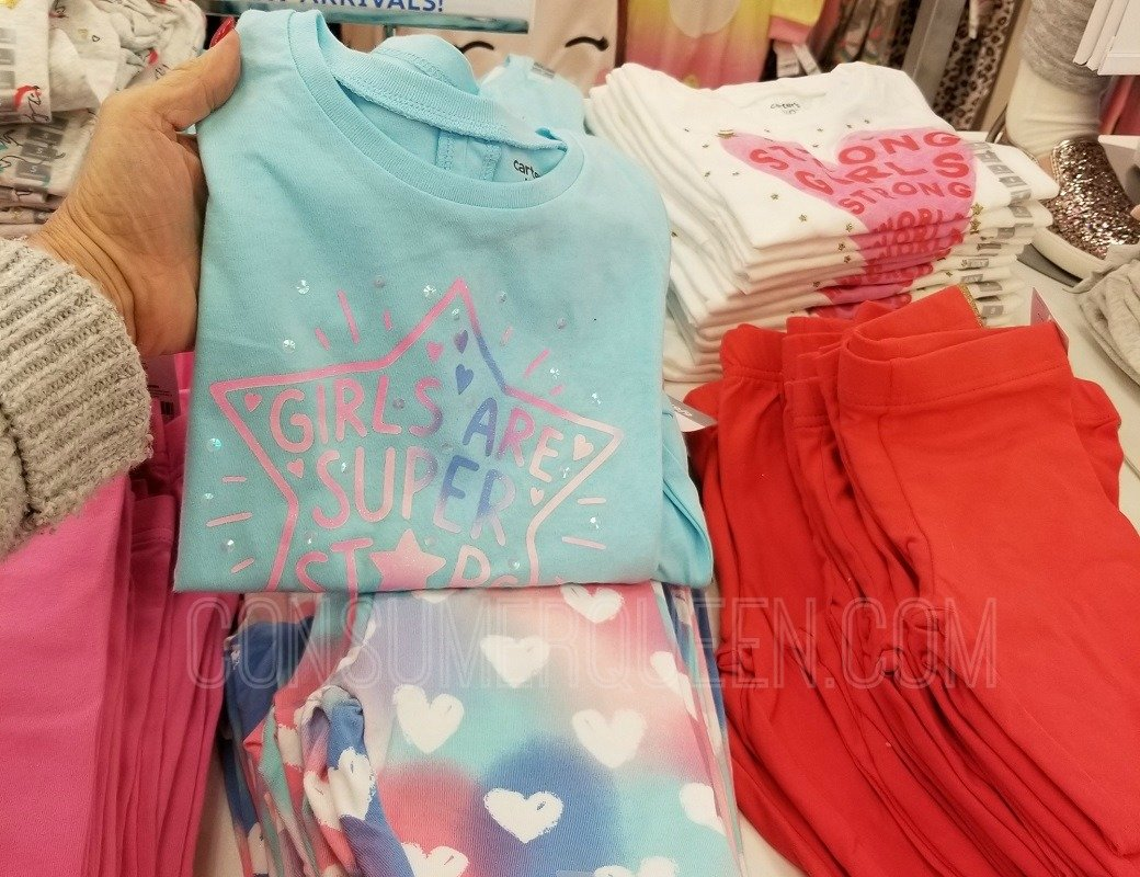 Carter's Tees & Leggings as Low as $1.79 + 25% Off $40 + FREE Shipping