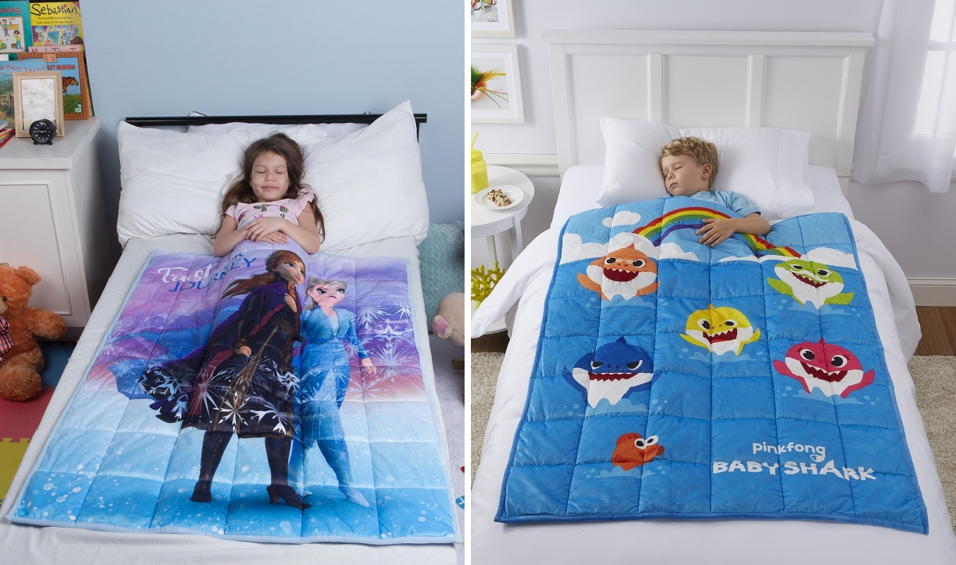 Character Weighted Blankets ONLY $24.97 at Walmart (Reg. $50!)