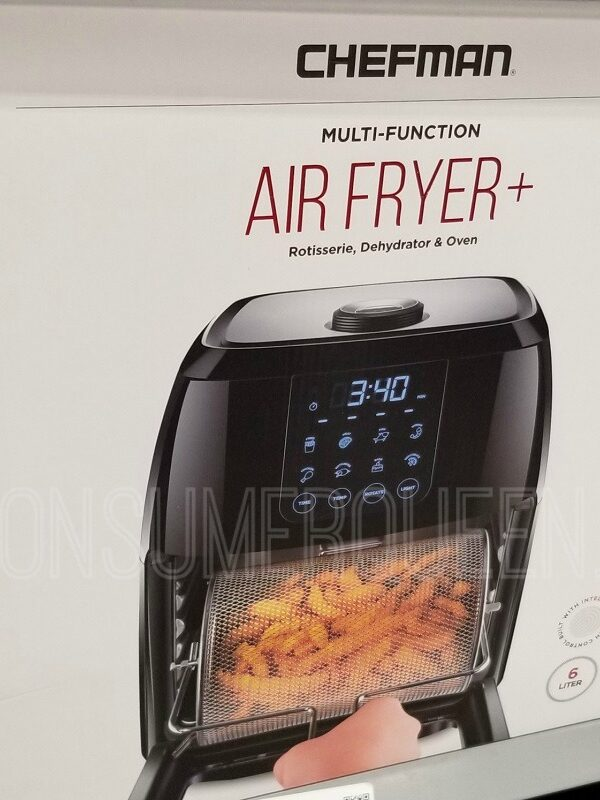 chefman digital 6L air fryer