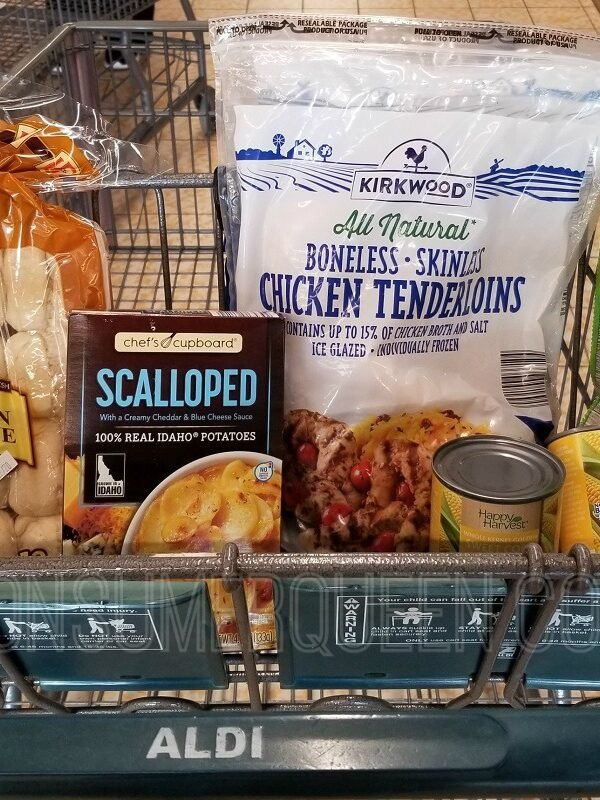 Chicken Dinner for Four + Leftovers Under $10 at Aldi