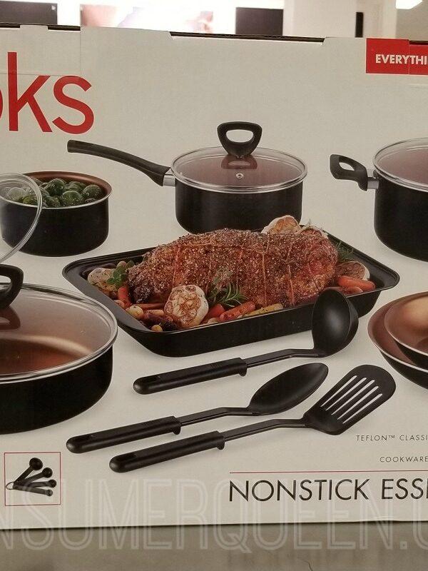 cooks 30 piece nonstick cookware