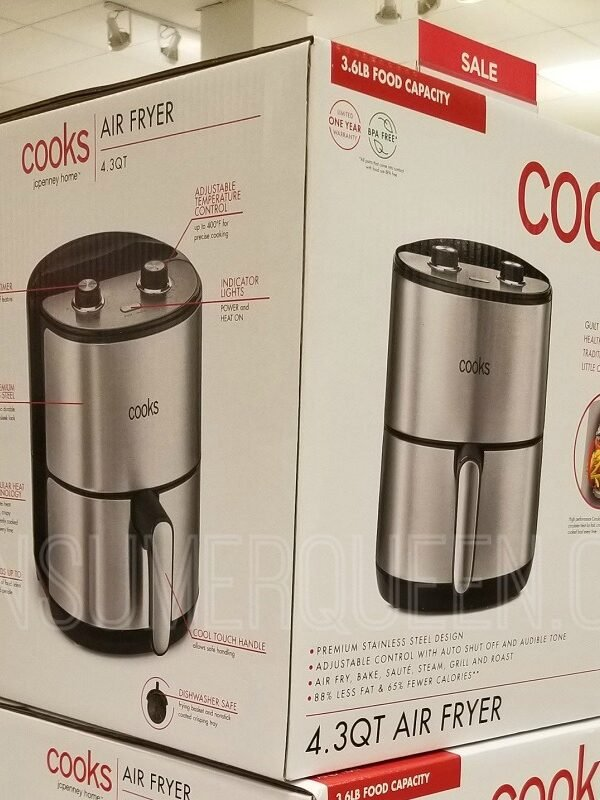 cooks 4 quart air fryer