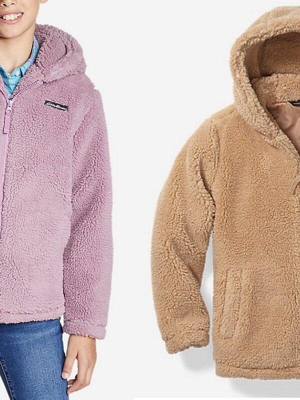 eddie bauer kids fleece jackets