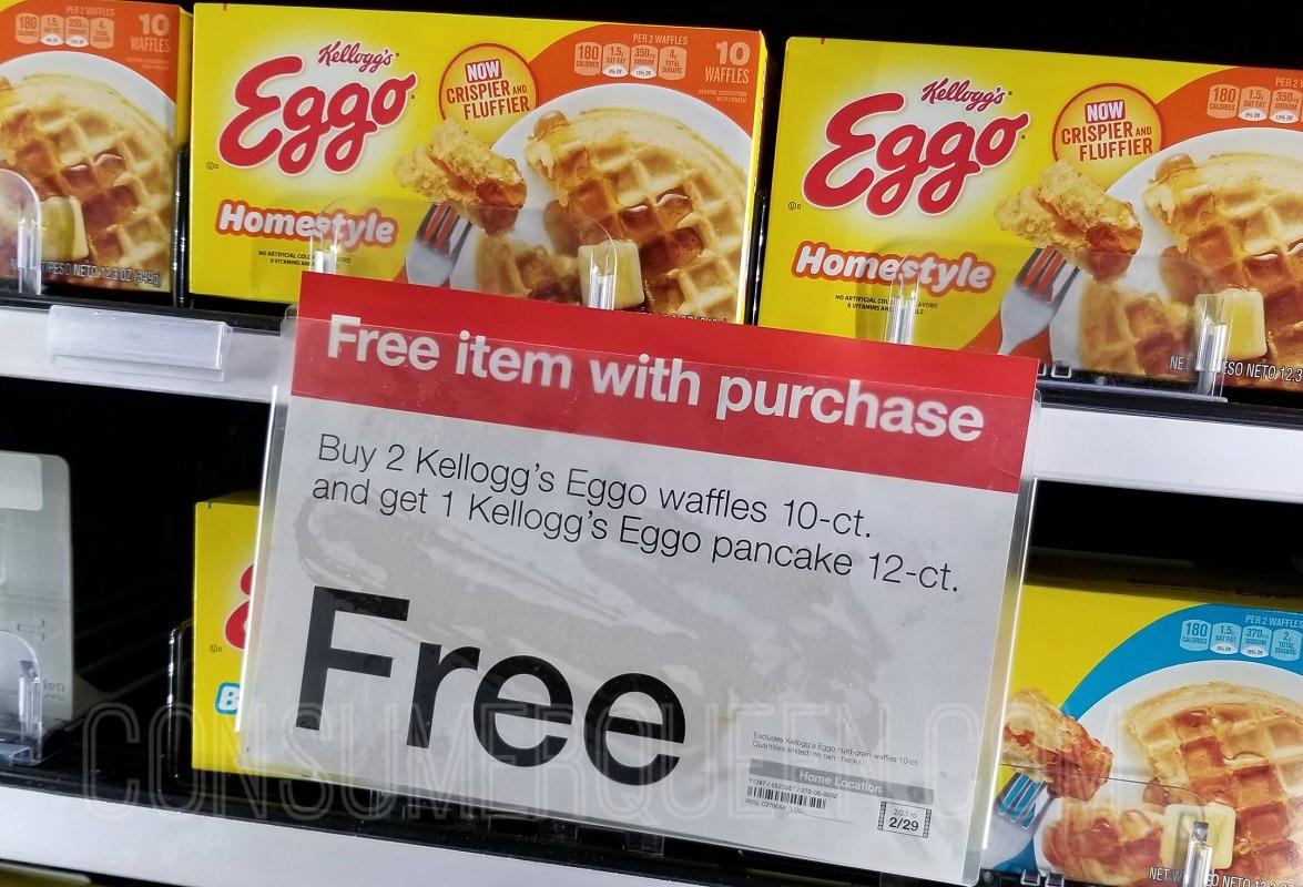 eggo waffle deal at target