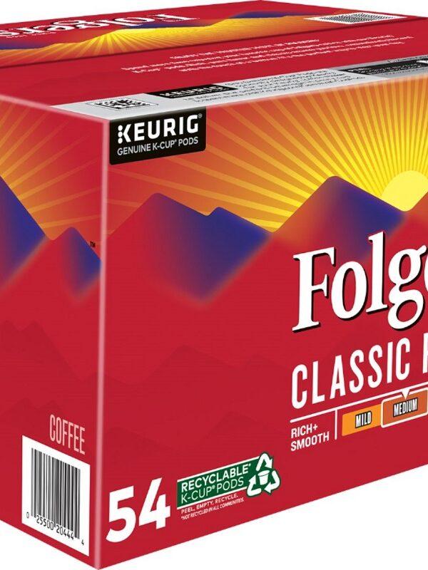 folgers classic roast pods