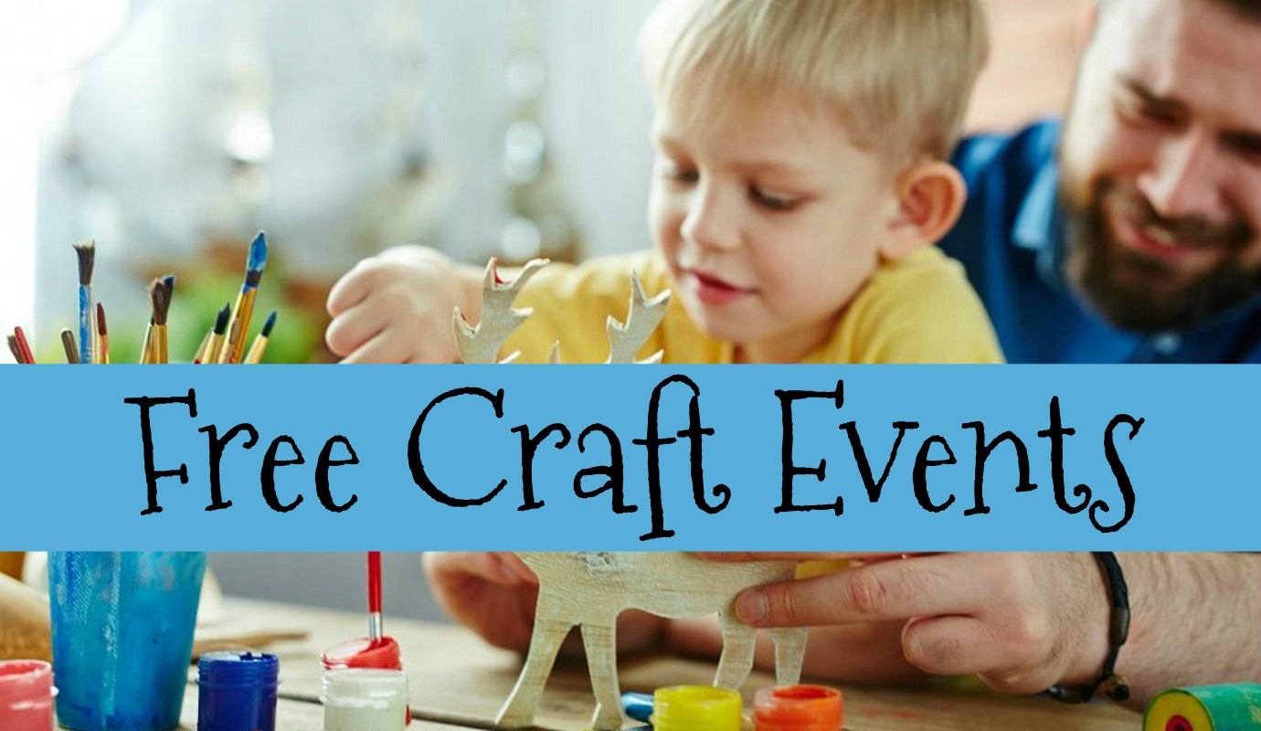 free craft events