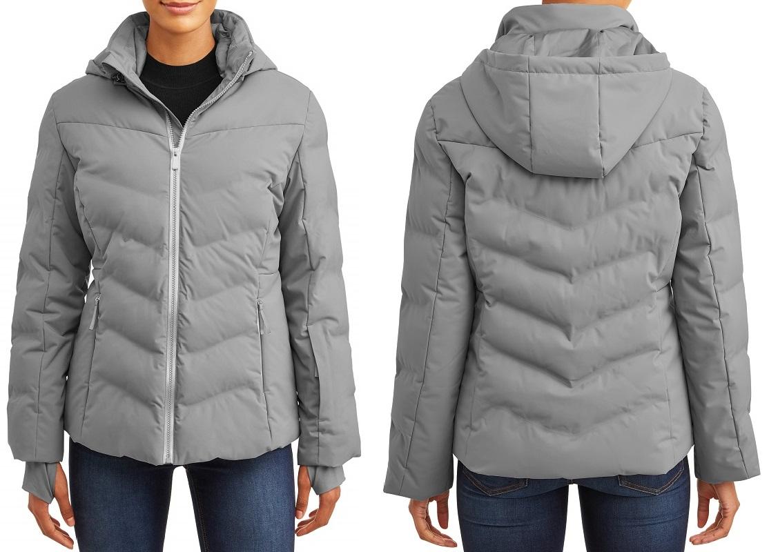 Women's Grey Puffer Coat ONLY $24.50 at Walmart (Reg. $60!)