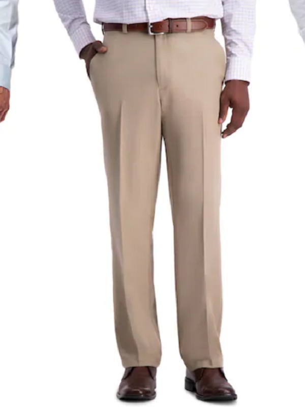 haggar pro classic wrinkle free pants