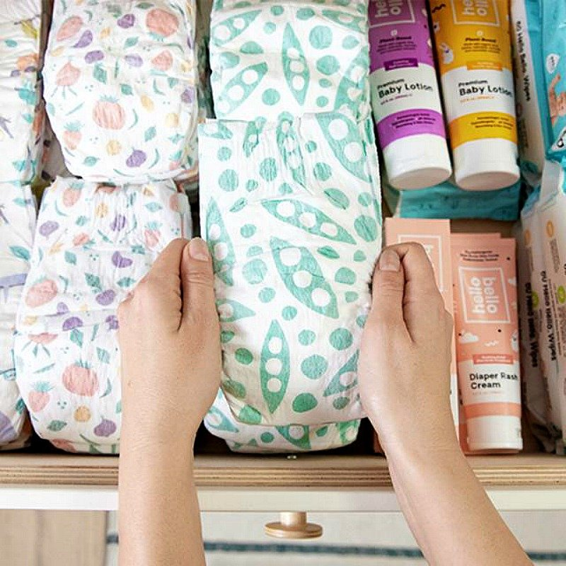 hello bello plant based diapers
