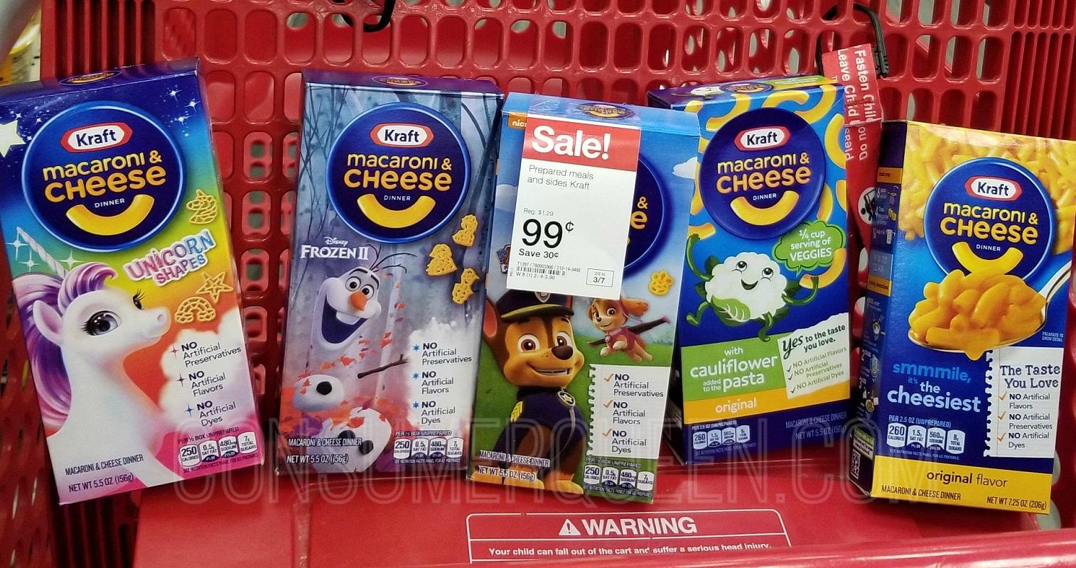 Kraft Blue Box Mac & Cheese – Nice Stock-up Price at Target!