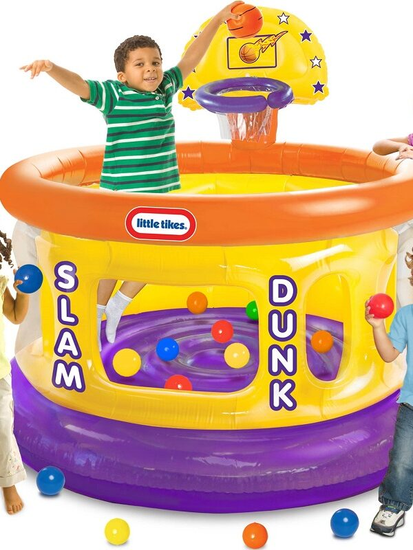 little tykes slam dunk ball pit