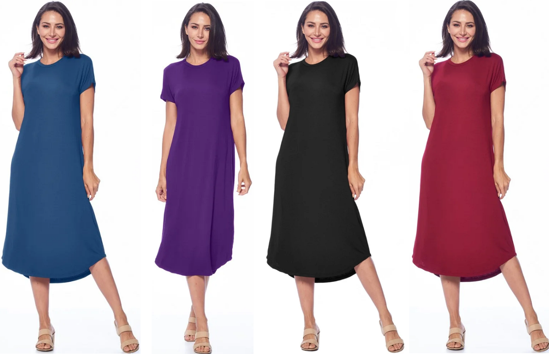 Midi Dresses JUST $17.99 + Free Shipping (Reg. $60) *EXPIRED*