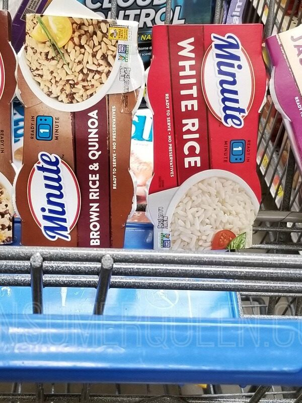 minute ready to serve rice at walmart
