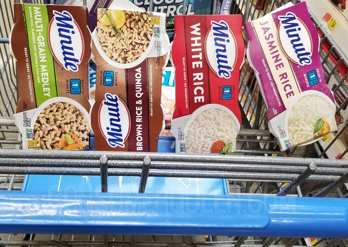 FREE Minute Ready to Serve Rice at Walmart After Cash Back!