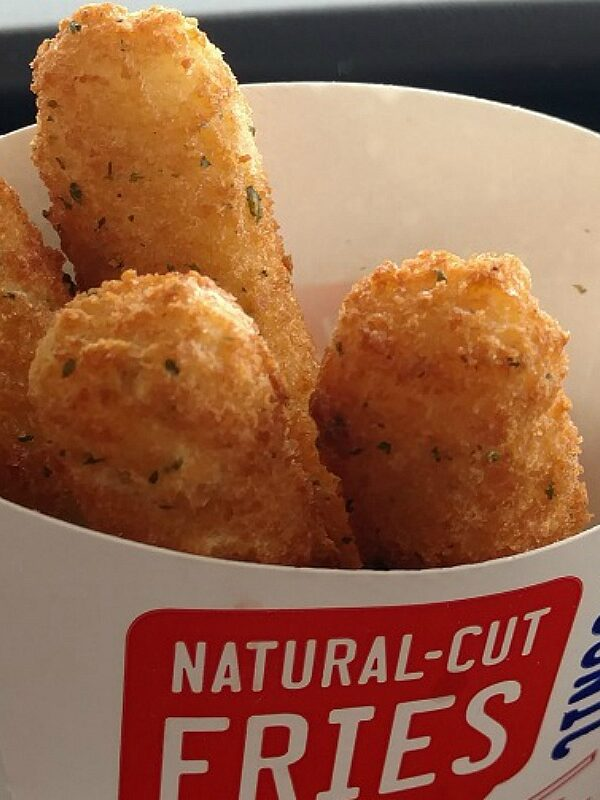 mozzarella sticks at sonic