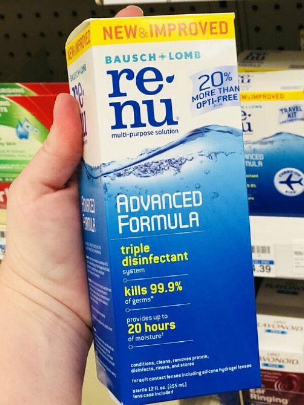 FREE Renu Solution at CVS This Week After Rewards