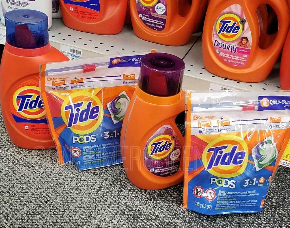 Tide Laundry Soap or Pods JUST $2.99 at Walgreens (Online or In-Store)