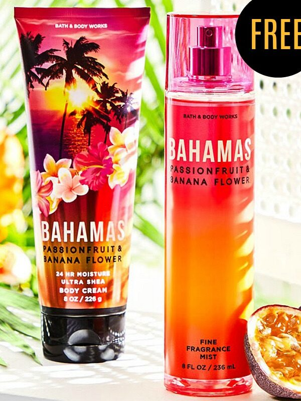 free Bahamas body care bundle
