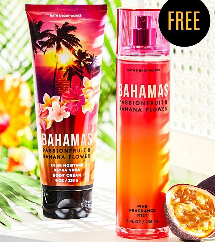 free Bahamas body care bundle
