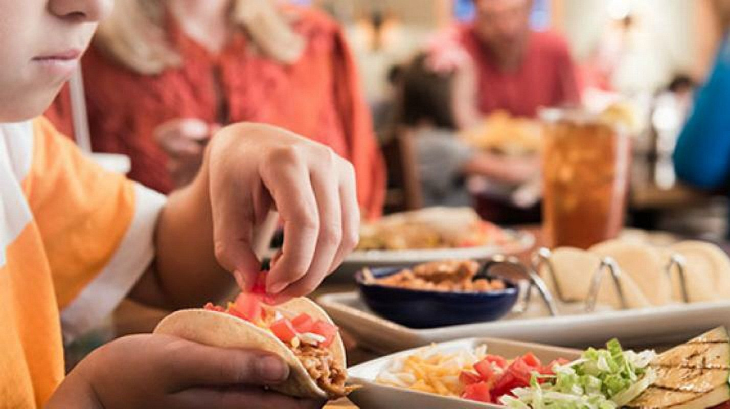 2 free kids meals at on the border