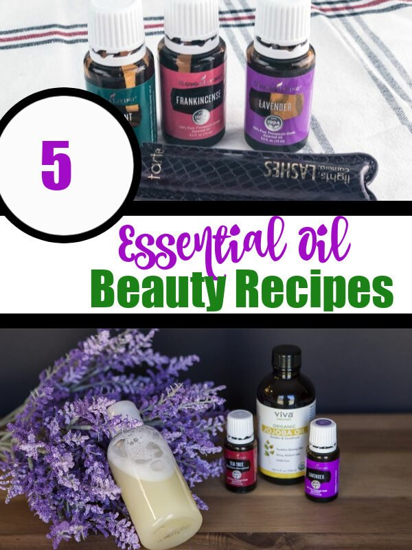 5 Easy DIY Essential Oil Beauty Recipes
