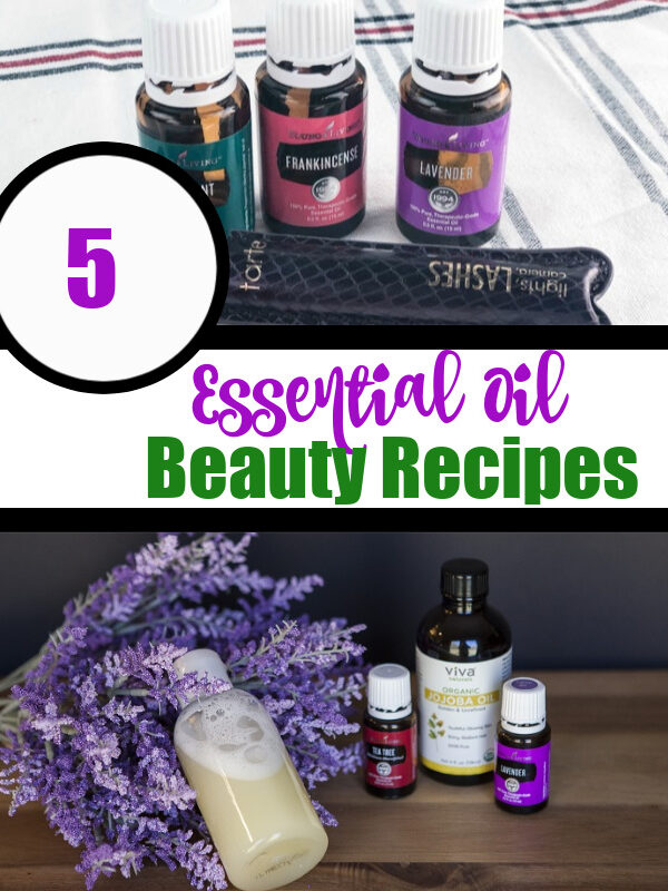 Essential Oil Beauty Recipes