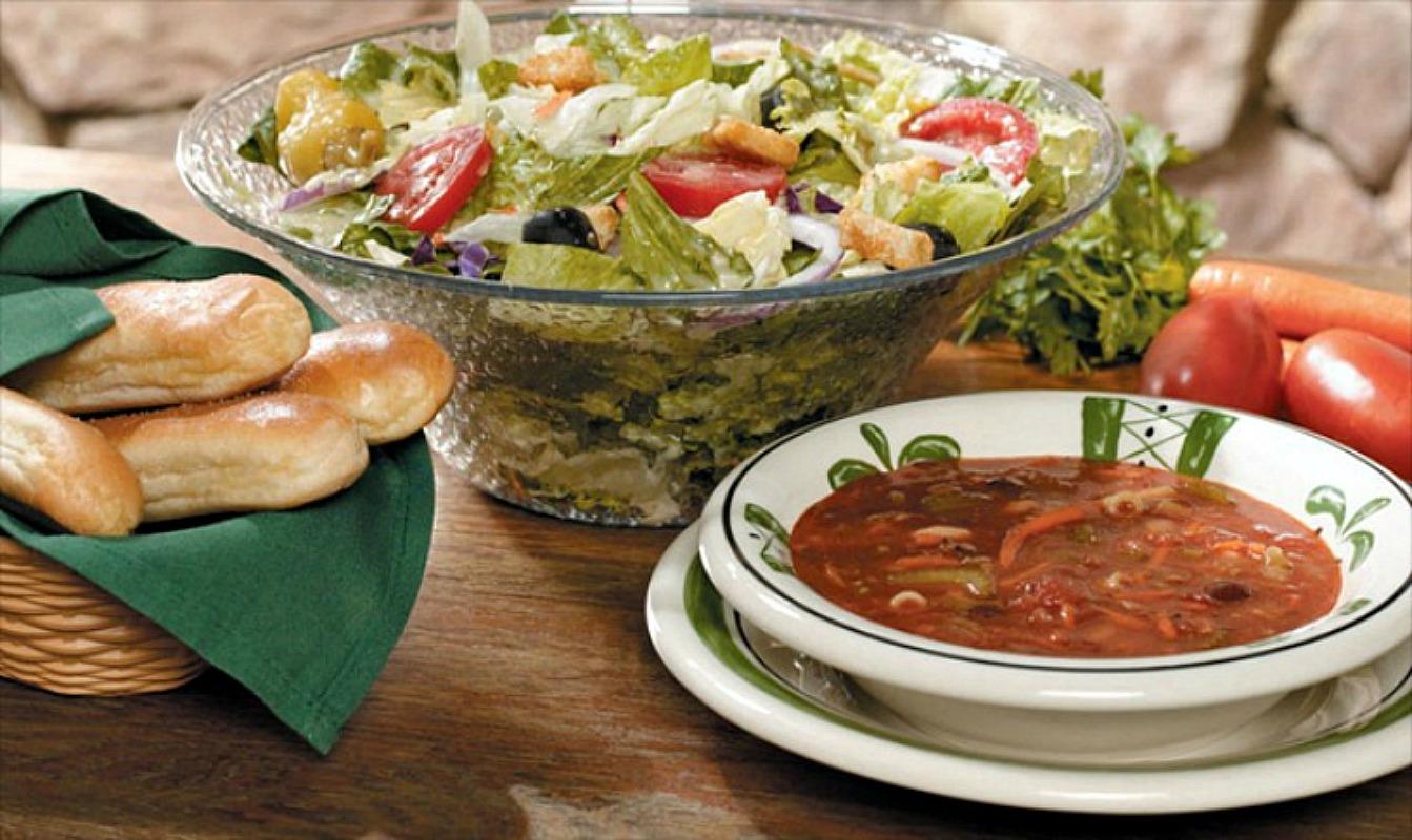 $6 Off 2 Adult Dinner Entrees w/Online Order at Olive Garden!