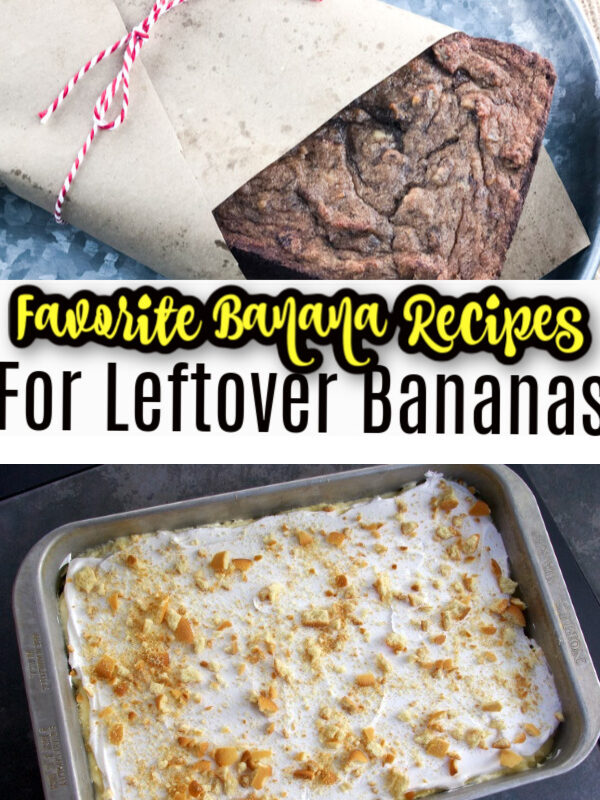 Favorite Banana Recipes for Leftover Bananas
