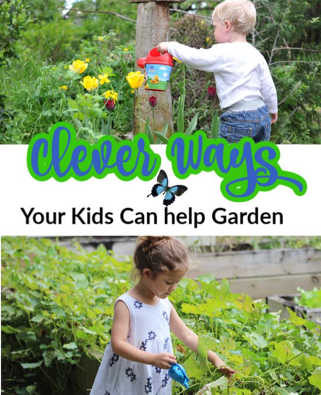 Kids Gardening Products & Clever Ways Kids Can Help Garden