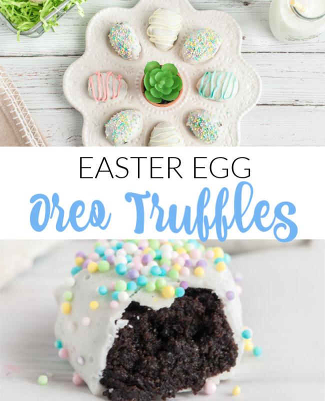 Oreo Truffle Easter Eggs