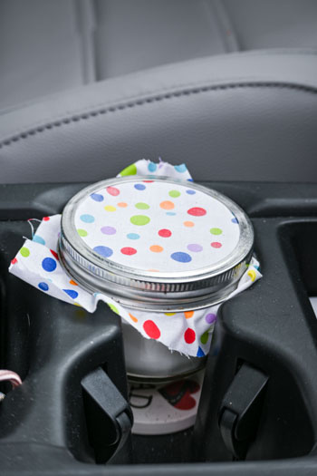 DIY Air Freshener Cup Holder