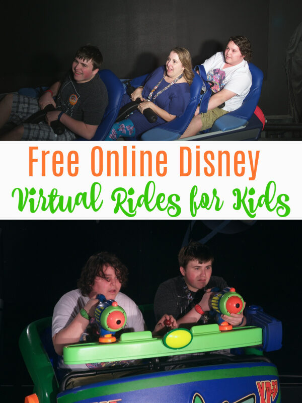 Disney World Virtual Rides