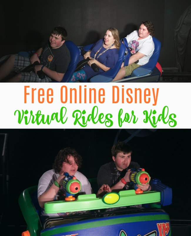 Disney World Virtual Rides