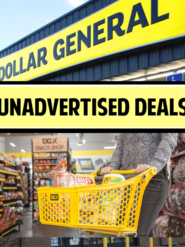 Dollar General Unadvertised Deals – See This Week's List!