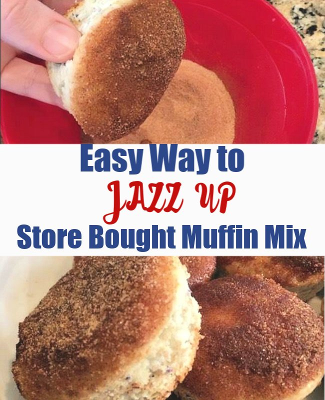 Easy Way to Jazz Up a Store-bought Muffin Mix!