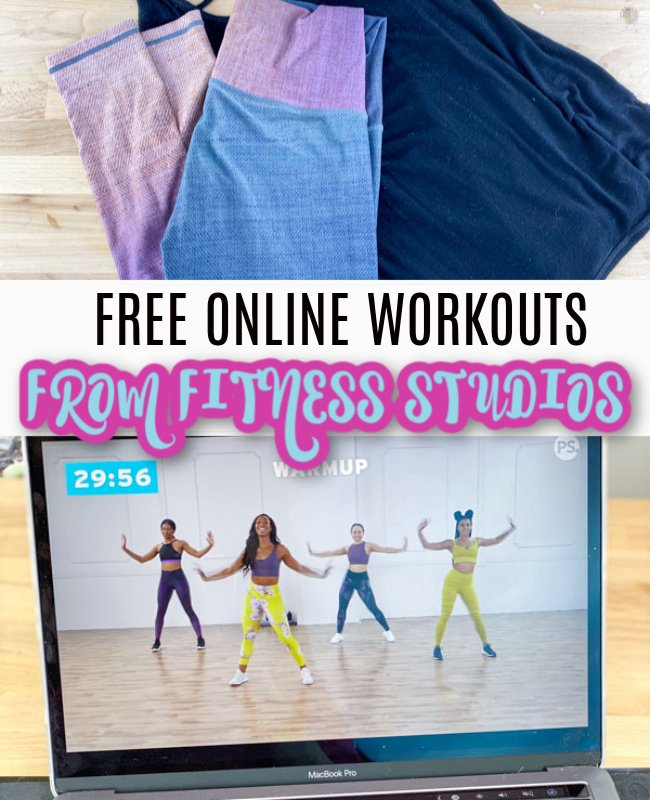 Free Online Fitness Classes From 11 Workout Studios