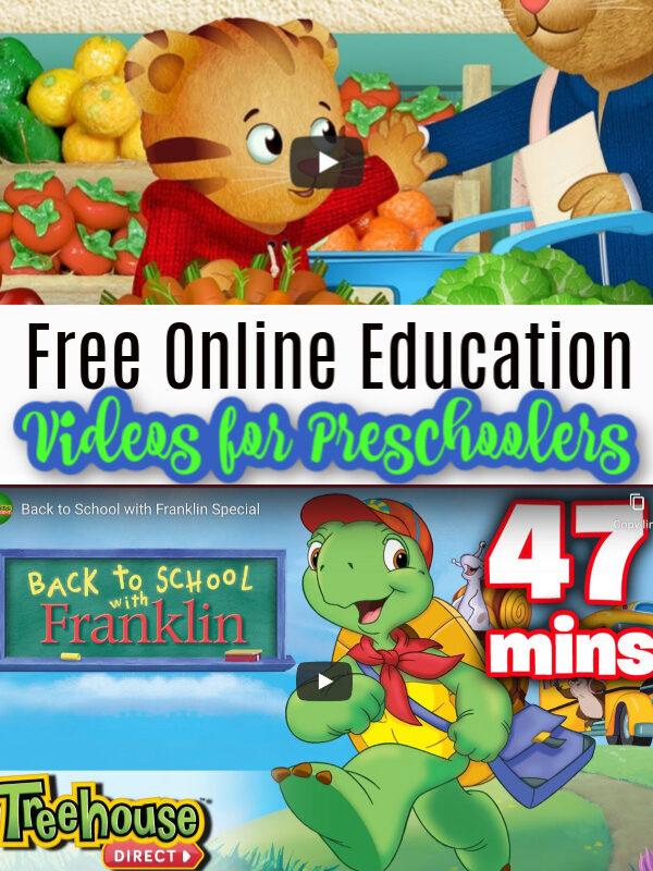 Free Online Educational Videos for Preschoolers
