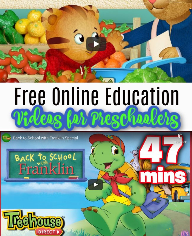 Free Online Educational Videos for Preschoolers