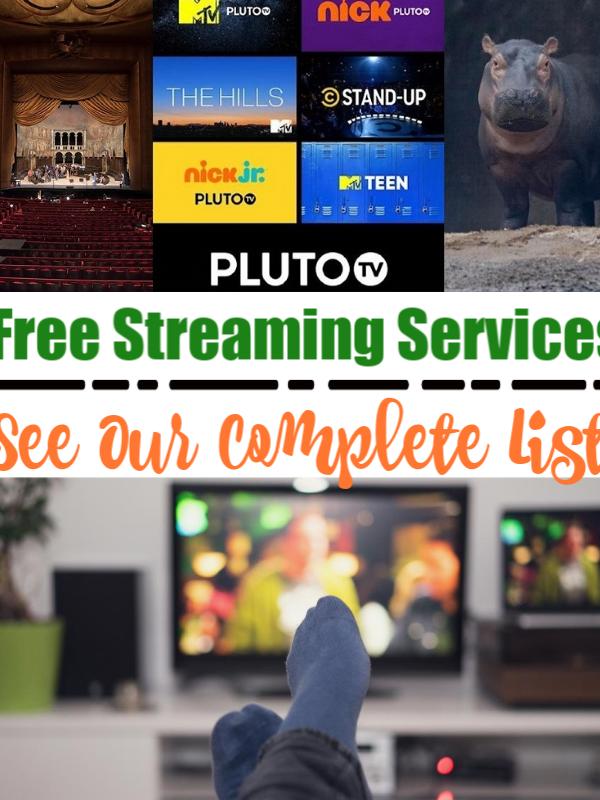 stream free movies & more